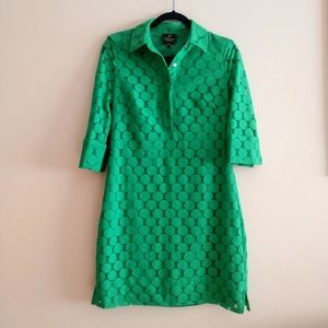 Adrianna Papell Green Lace Dress Size 8